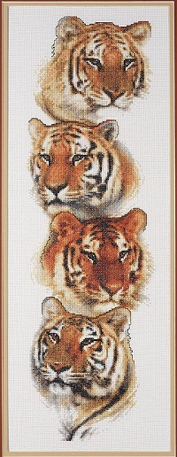 Janlynn 013-0334 Tiger Pack