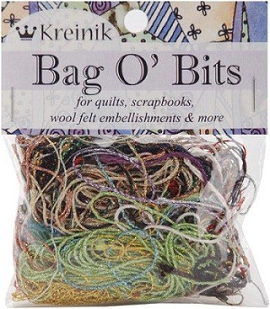Bag O' Bits Metallic Thread