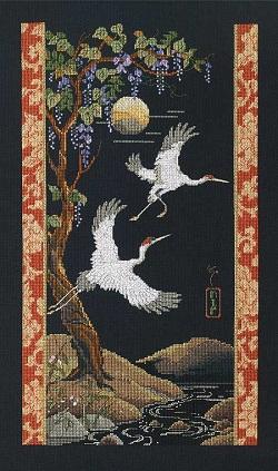 Janlynn 023-0157 Cranes