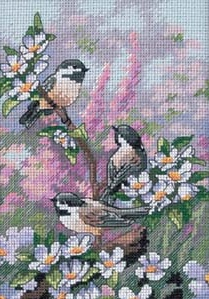 Dimensions 06884 Chickadees in Spring