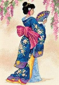 Dimensions 06953 Elegant geisha