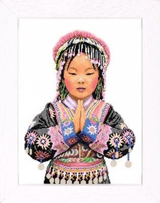 Lanarte PN8159 Thai Hilltribe Girl