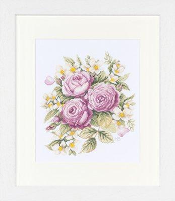 Lanarte PN8199 Peony Bouquet by Marjolein