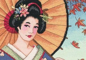 Dimensions 65036 Geisha beauty