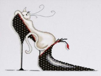 Design Works 2552 Polka dot shoe