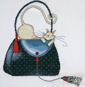 Design Works 2729 Polka dot purse