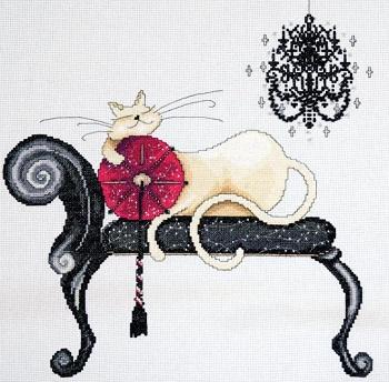 Design Works 2743 Chandelier Cat