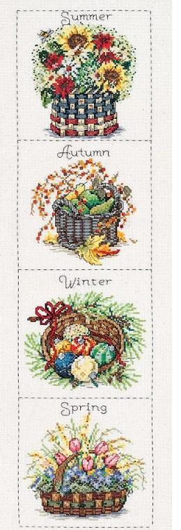 Janlynn 15-0245 Seasonal baskets