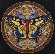 Dimensions 65095 Ornate Butterfly
