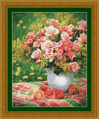 Kustom Krafts 2061 Peach Roses