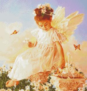 Kustom Krafts 2203 Butterfly Kisses Angel