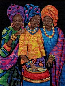 Dimensions 35254 Yoruban Beauties