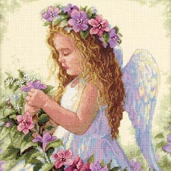 Dimensions 35229 Passion Flower Angel