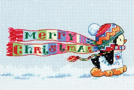 Dimensions 08950 Christmas Penguin
