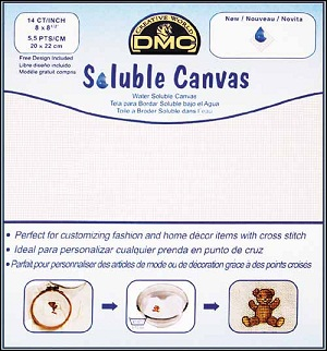 DMC water soluble canvas