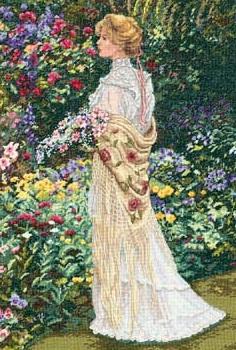 Dimensions 35119 In her garden
