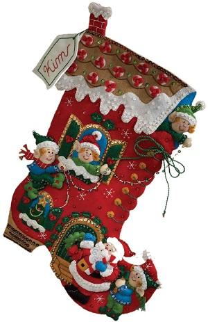 Bucilla 86146 Holiday Decorating