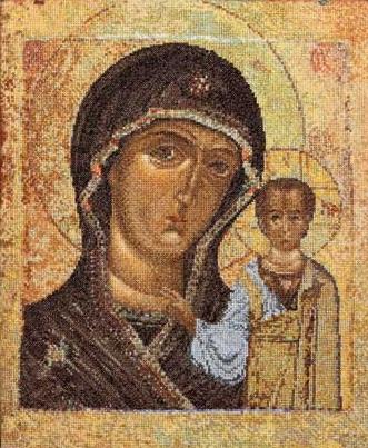 Thea Gouverneur GOK477 The Holy Virgin of Kazen