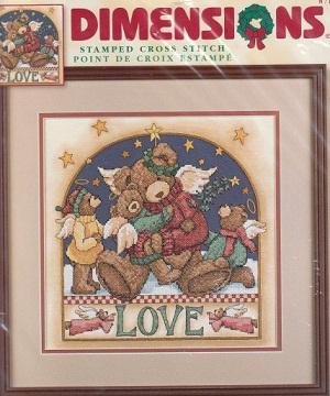 Dimensions 8710 Angel Bear Love
