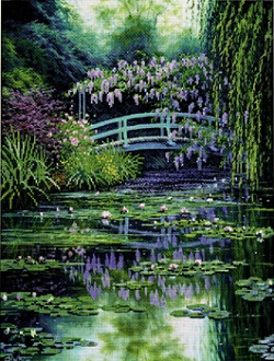 Candamar ECX 51308 Monet's Japanese Bridge