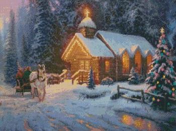 Candamar 51654 Christmas Chapel