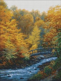 Candamar 52417 Autumn Stream
