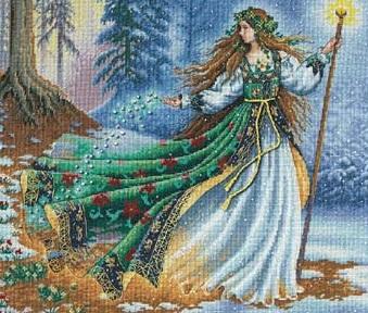 Dimensions 35173 Woodland enchantress