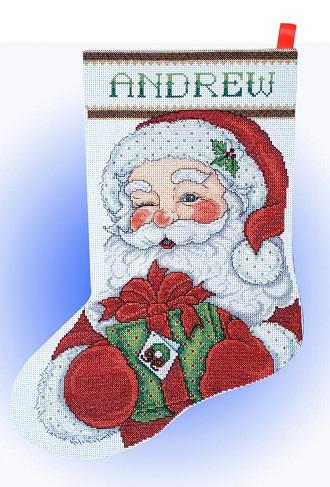 Design Works 5959 Winking Santa