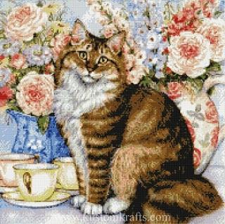 Kustom Krafts 9011 Flower Feline