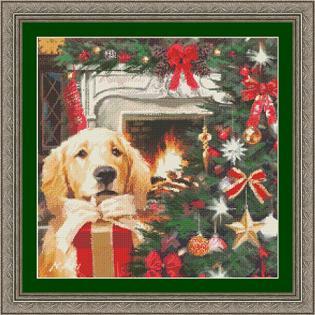 Kustom Krafts 9757 The Red Gift Lab Pup