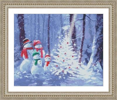 Kustom Krafts 9766 Snowman Family