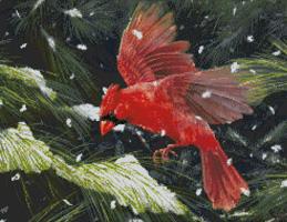 Kustom Krafts 9820 Finding Refuge-Red Cardinal