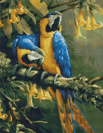 Kustom Krafts 9944 Blue Gold Macaws