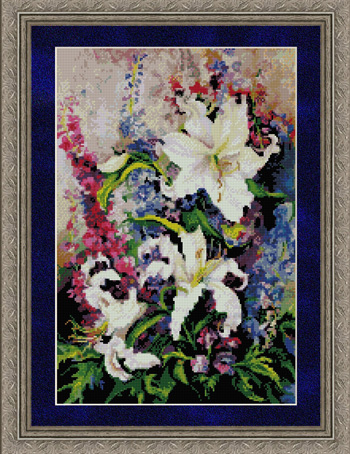Kustom Krafts 9947 Lilies and Delphiniums