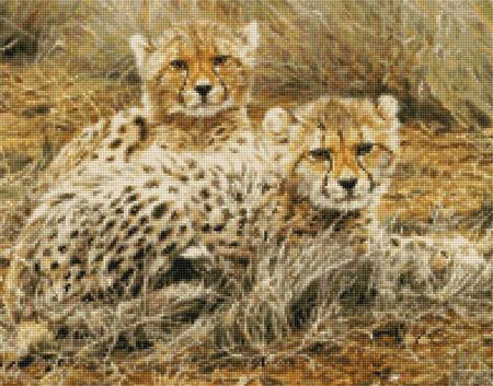 Kustom Krafts 9962 Little Princesses-Baby Cheetahs