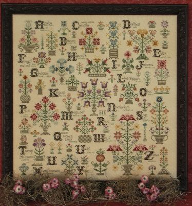 Rosewood Manor S-1011 Language Of The Flowers quaker