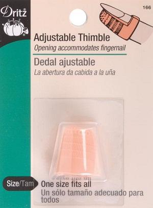 Dritz Adjustable thimble