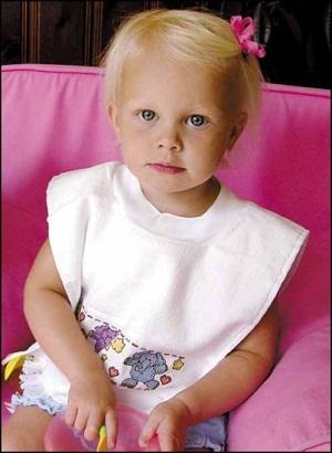 Toddler bib,Charles Craft
