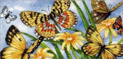 Dimensions 65055 Butterfly Vignette