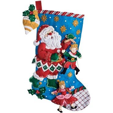 Bucilla 86327 Christmas Puppet show