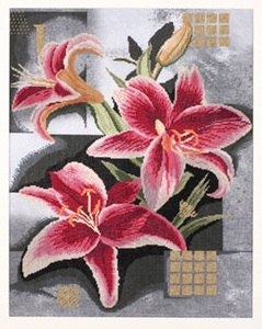 Lanarte Pn 8291 Composition of Pink Lilies