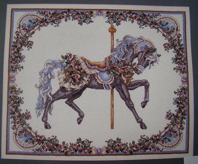 Carousel Horse-Summer-Teresa