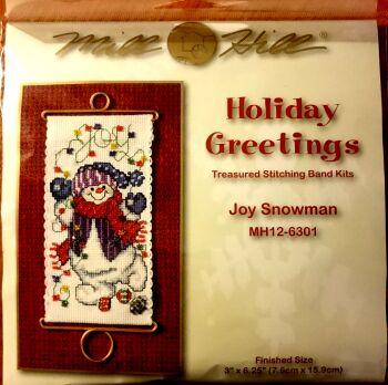 Mill Hill MH126301 Joy Snowman