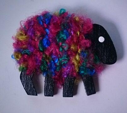 Multi-colored sheep