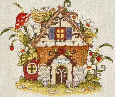 Janlynn 021-1382  Fairy House