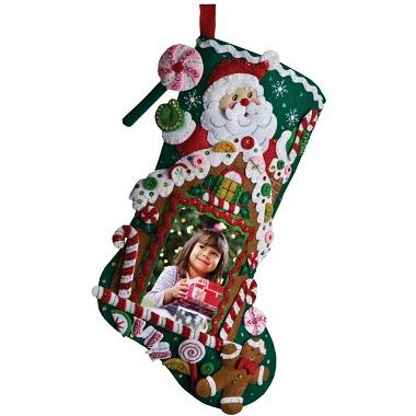Bucilla 86411 Gingerbread frame stocking
