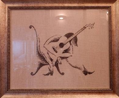 Guitar Lady