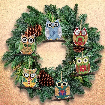 Janlynn 21-1453 Owl ornaments