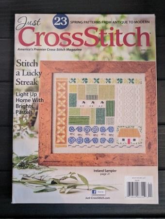 Just Cross Stitch Magazine March/April 2017