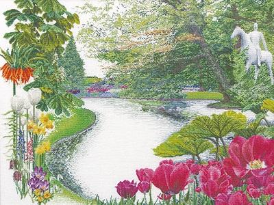 Thea Gouverneur GOK431 Keukenhof Garden